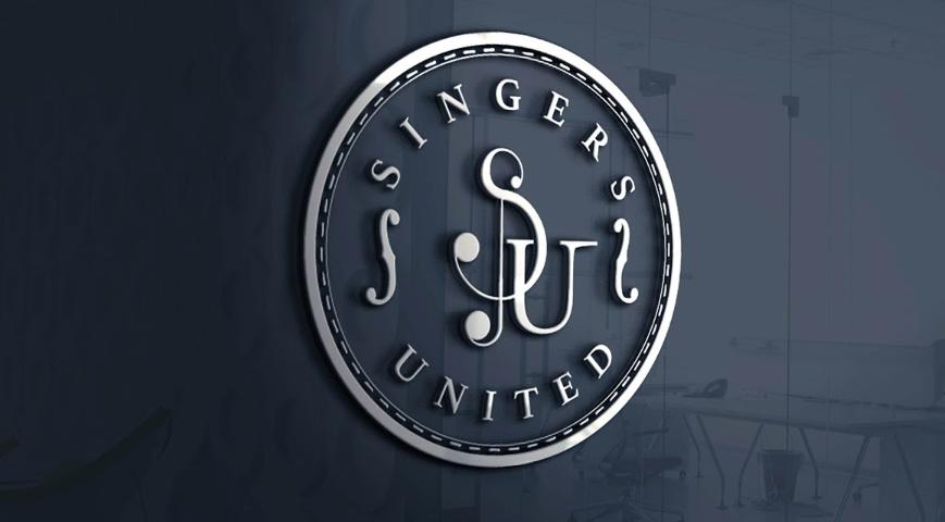"""Logoul ales pentru grupul coral """"Singers United"""""""