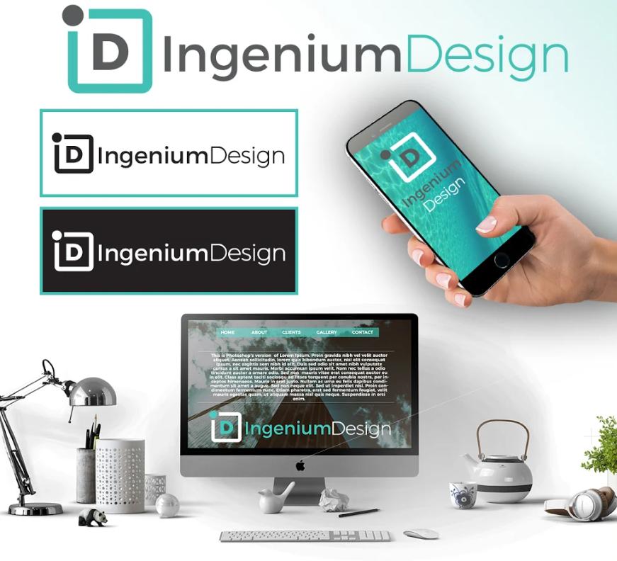 Logoul ales pentru Ingenium Design